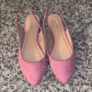 OLD NAVY | open-back flats